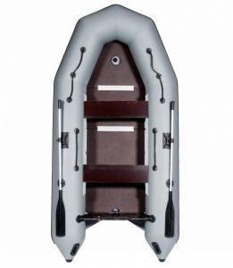 Лодка ПВХ Лоцман М-340 (киль) надувная под мотор