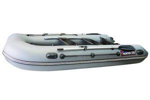 Лодка ПВХ Хантер 335 надувная под мотор
