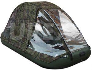 Фото тента-палатки на лодку Аква-Оптима 260