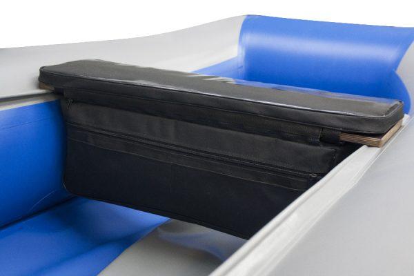 Фото мягкой накладки с сумкой (верх пвх) (110 см)
