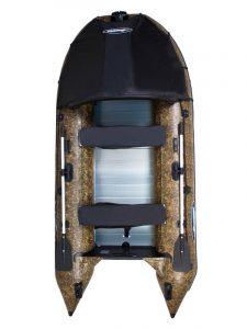 Лодка ПВХ Гладиатор (Gladiator) С 400 AL CAMO надувная под мотор