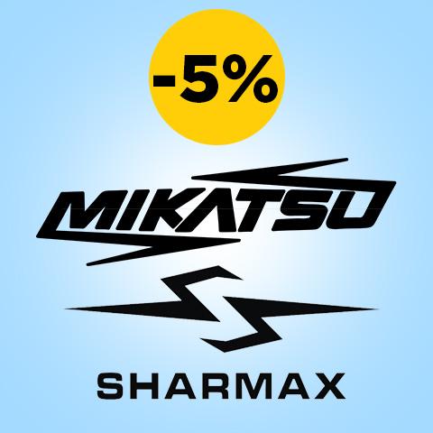 Акция! Скидка 5% на Лодочные Моторы Mikatsu и Sharmax