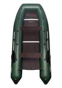Лодка ПВХ Таймыр 360 Люкс надувная под мотор
