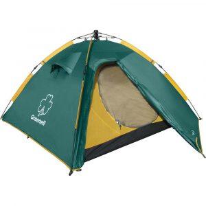 Фото Палатка автоматическая GREENELL Клер 3 v2 Зеленый