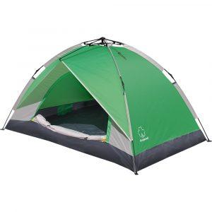 Фото Палатка автоматическая GREENELL Коул 2 Зеленый/свет.серый