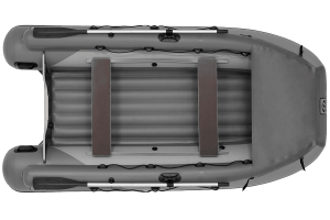 Лодка ПВХ Фрегат 350 Air F с НДНД, фальшбортом и фартуком
