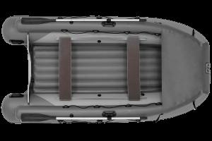 Лодка ПВХ Фрегат 370 Air F с НДНД, фальшбортом и фартуком