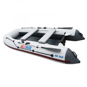 Лодка ПВХ Альтаир HD 340 НДНД надувная под мотор